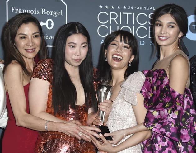 """Les vedettes du film """"Crazy Rich Asian"""", meilleure comédie aux Critics' Choice Award"""