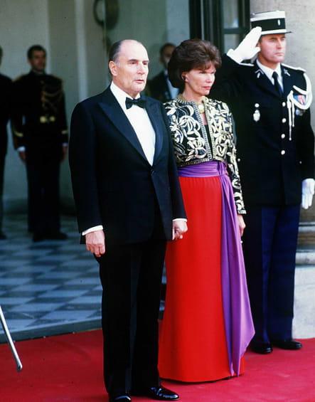 Tandem, en 1985, lors de la soirée en l'honneur de Juan Carlos d'Espagne