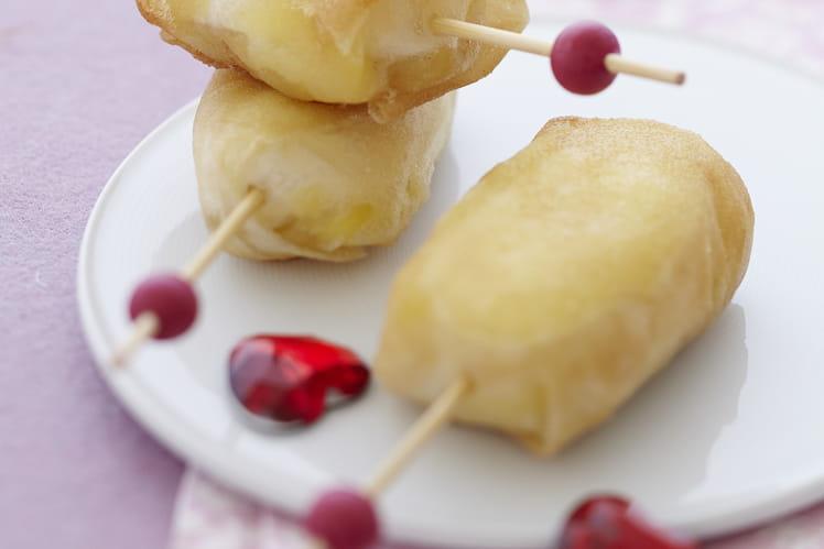 Bonbon de Mini Caprice des Dieux,  pomme confite au cumin