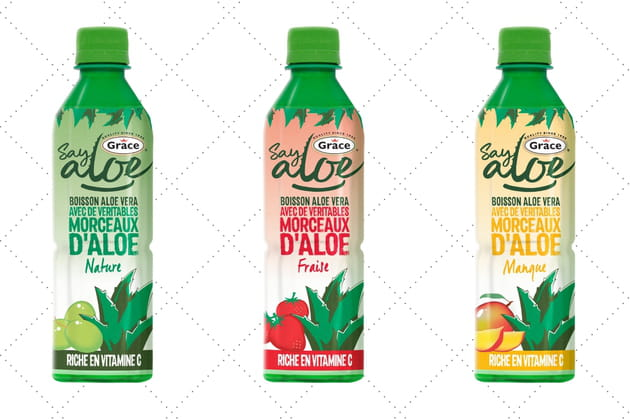 Les boissons de Say Aloe