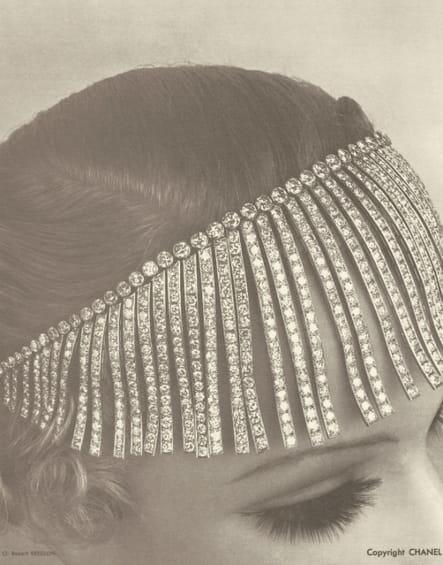 """Le collier """"Franges"""" de la collection Bijoux de Diamants de 1932"""