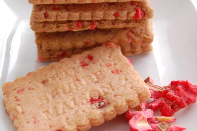 Biscuits petit-beurre aux pralines maison