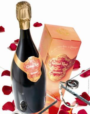 cuvée grand rosé par gosset champagne