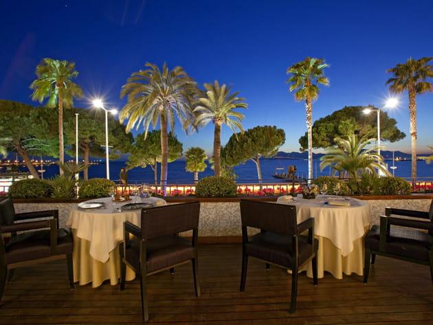 """Le restaurant """"La Palme d'or"""""""
