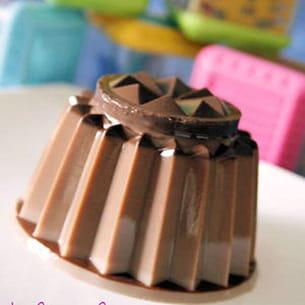 flamby au chocolat