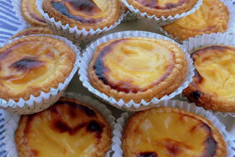 Pasteis de nata comme au Portugal