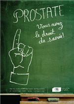 l'affiche de la journée nationale de la prostate.