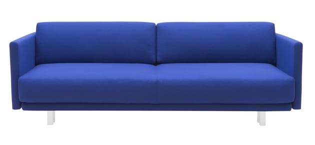 Canapé convertible en bleu indigo de Fleux'