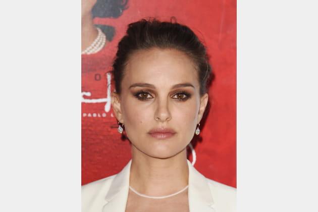 Natalie Portman avec le chignon sophistiqué