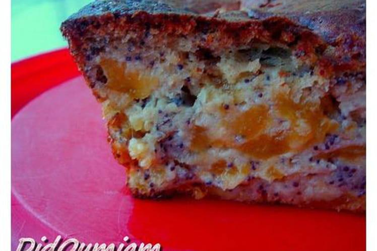 Cake aux abricots et au pavot