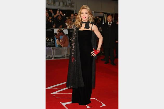 Madonna le 11janvier 2012