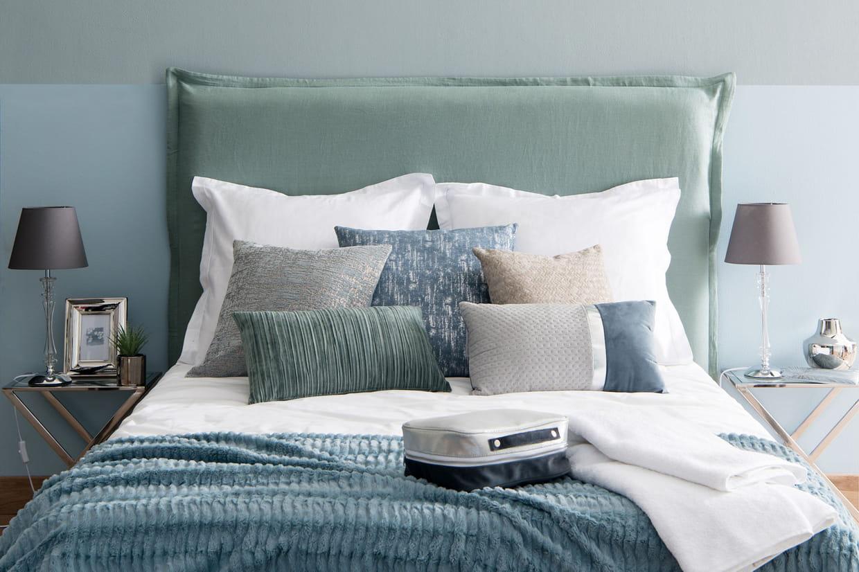 Tête de lit lin Maisons du monde