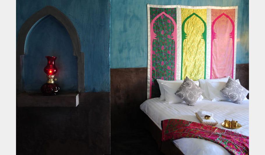 Un air de Maroc dans les chambres