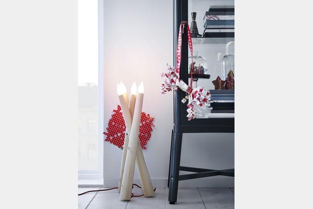 Lampe à poser IKEA Noël