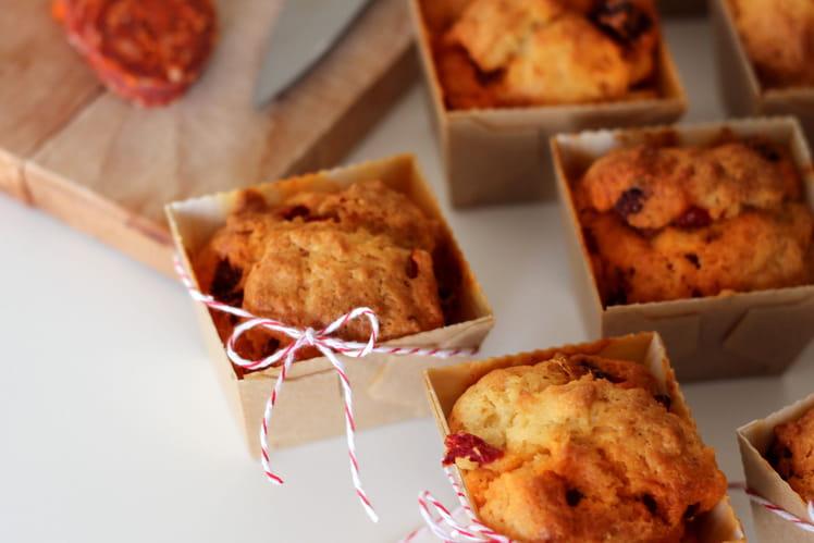 Muffins Chorizo et Poivron Piquillos