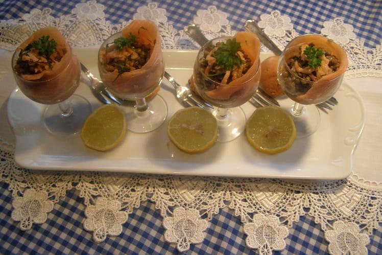 Salade de lentilles de Gala