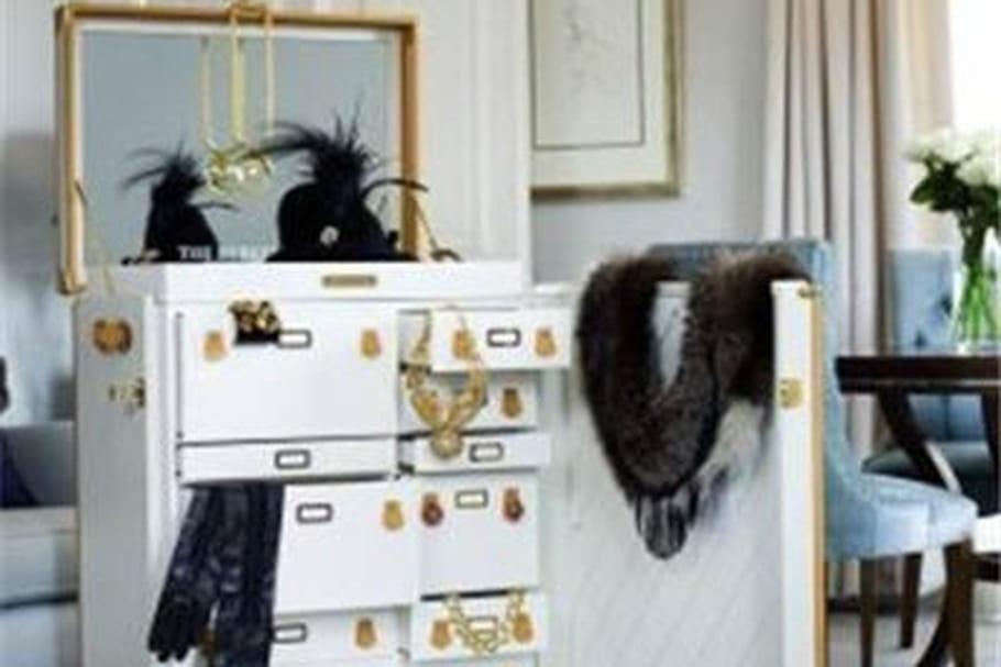 Une malle aux trésors à l'hôtel Berkeley de Londres
