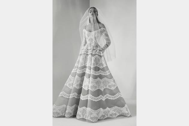 Une robe de mariée atypique