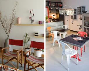 on détourne le mobilier outdoor dans le salon ou la cuisine