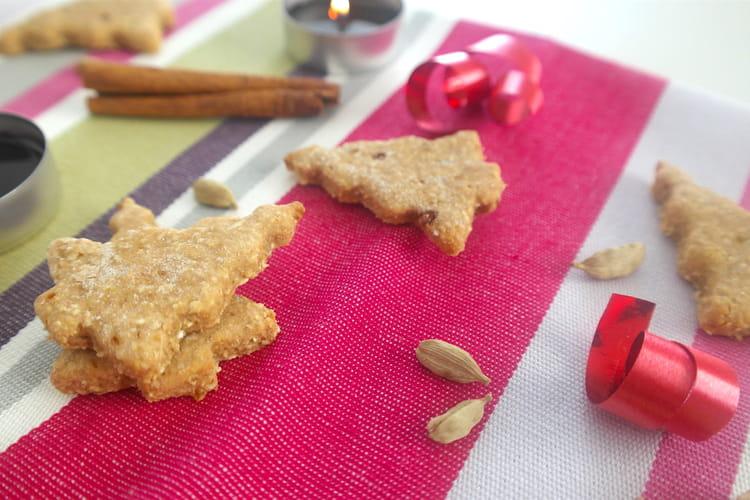 Biscuits à la cannelle et à la cardamome
