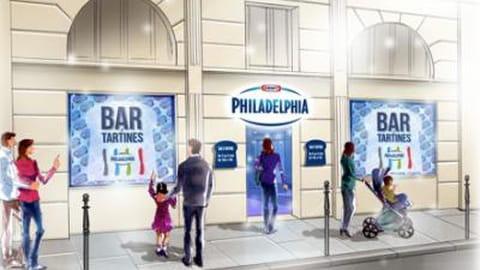 Philadelphia ouvre un bar à tartines à Paris