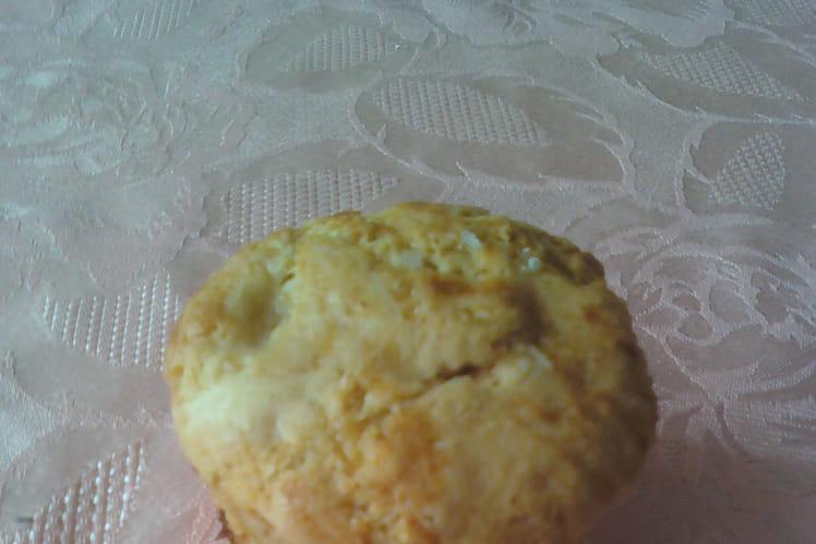 Muffins, coeur fondant à la pomme