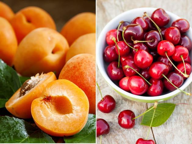 Abricot ou cerise ?