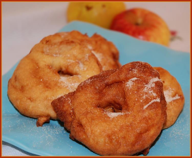 Beignets aux pommes la meilleure recette - La ferme aux beignets ...