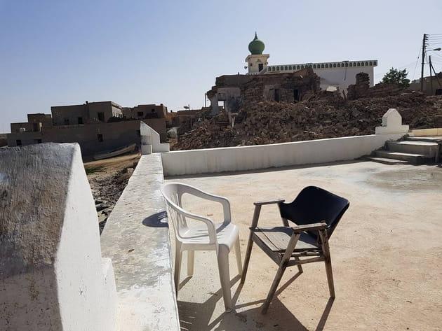 Sur les toits de Taqah