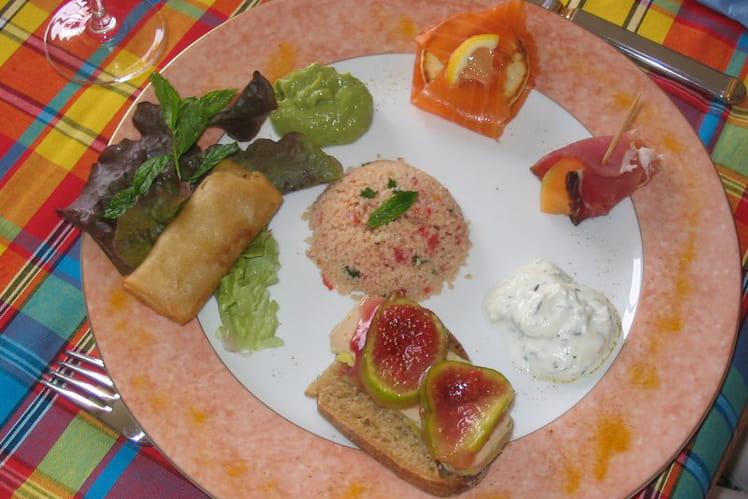 L'assiette des 4 coins du monde