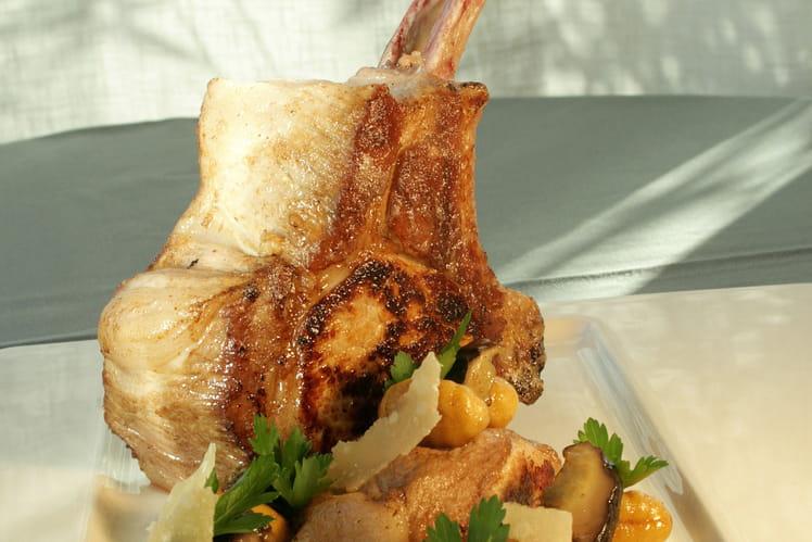 Côtes de porc à l'Ossau-Iraty