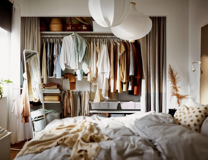 20photos de dressings IKEA pour trouver le vôtre