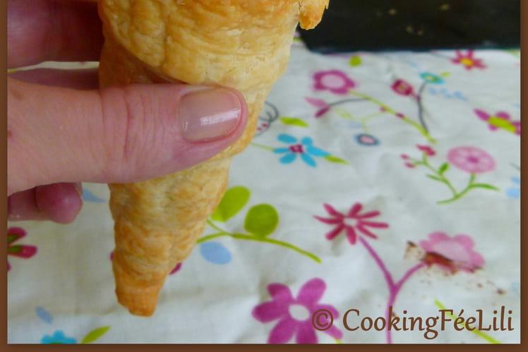 Cornets pâtissiers aux abricots