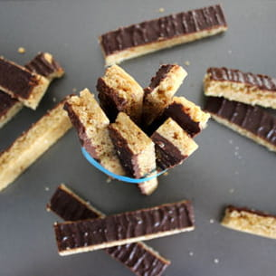 cookies sticks chocolat-noix de coco