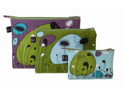 les pochettes 'chic' vertes de mlle héloïse