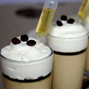 verrine façon irish coffee