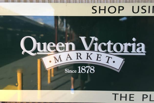 Queen Victoria Market, royal !