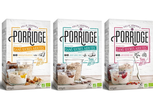 Les porridges de Felix Venter's