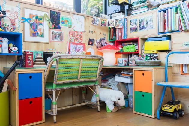 Un bureau aussi pour le petit