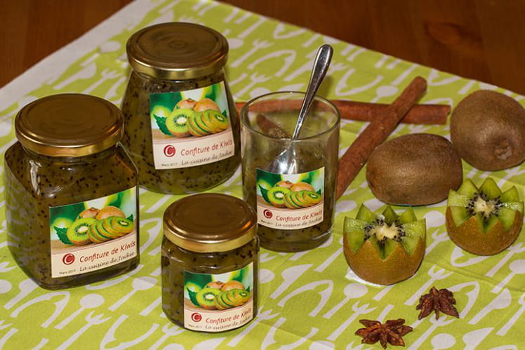 Confiture de Kiwis aux épices