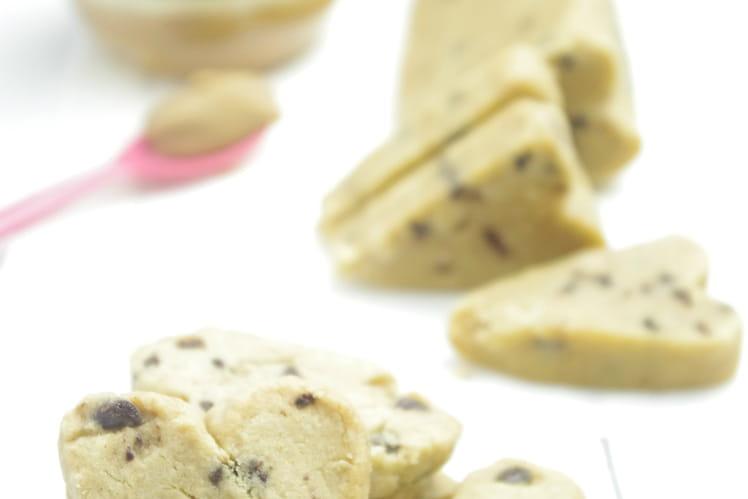 Shortbreads au beurre de cacahuète et pépites de chocolat
