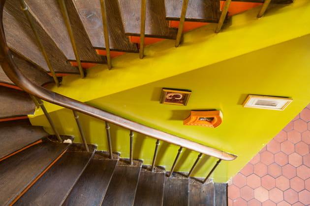 Un escalier vitaminé