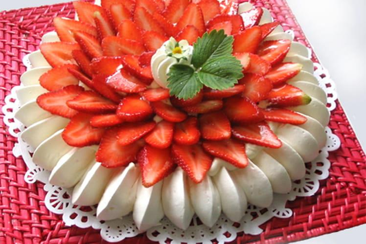Vacherin aux fraises