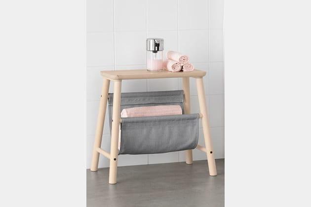 Tabouret avec rangement Vilto de Ikea
