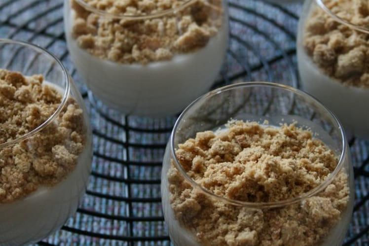 Crème coco Bio, sans gluten, oeufs et lait