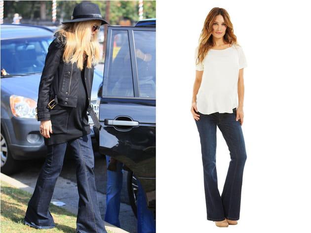 Rachel Zoe: un jean pattes d'eph'