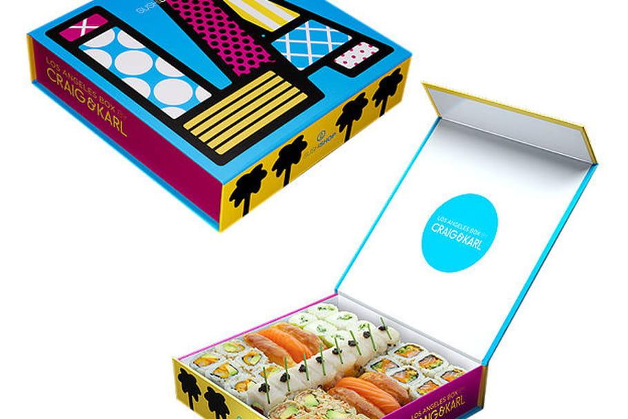Concours Sushi Shop : gagnez des box Los Angeles Carl & Kraig