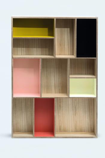 rangement multicases de monoprix. Black Bedroom Furniture Sets. Home Design Ideas