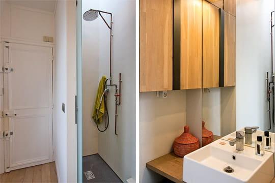 Une petite salle d 39 eau - Petite salle d eau design ...