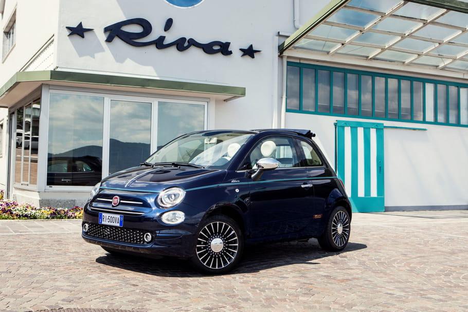 Nouvelle Fiat 500Riva, la beauté à l'italienne